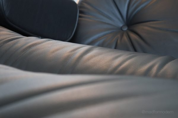 Cuero sillon Eames