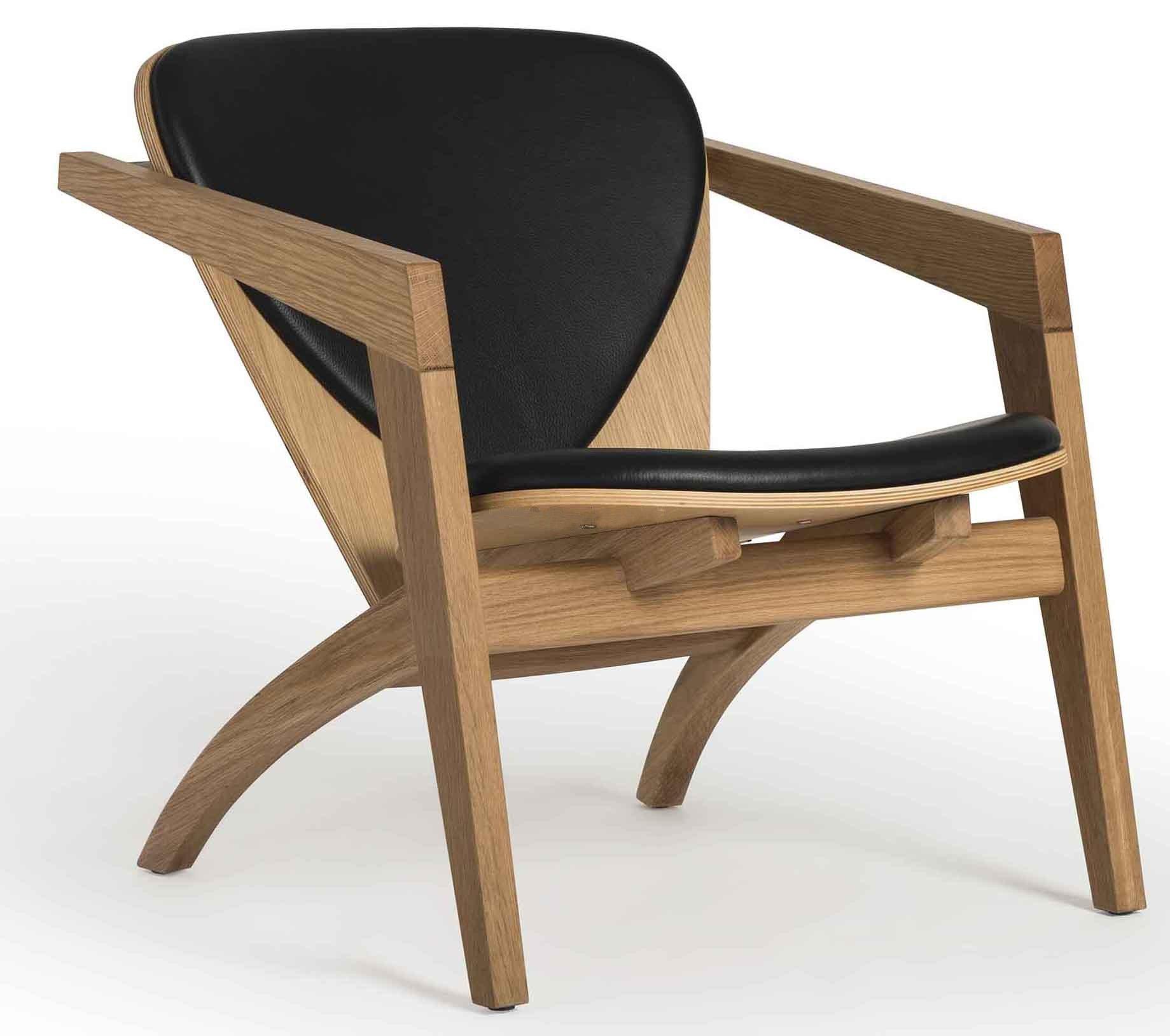 Butterfly chair en cuero hans wegner mad for modern - Butaca butterfly ...