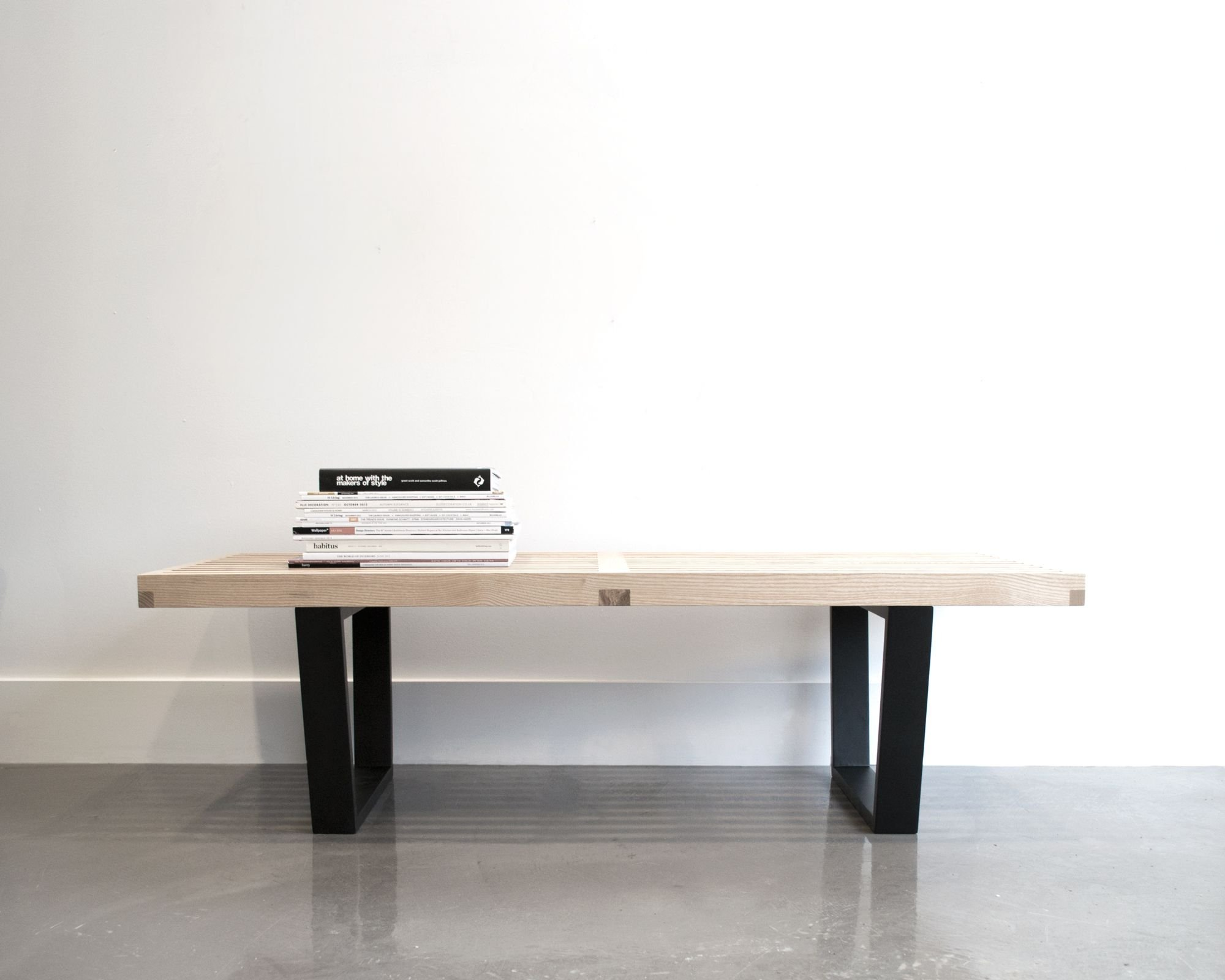 Platform Bench George Nelson Mad For Modern # Muebles George Nelson