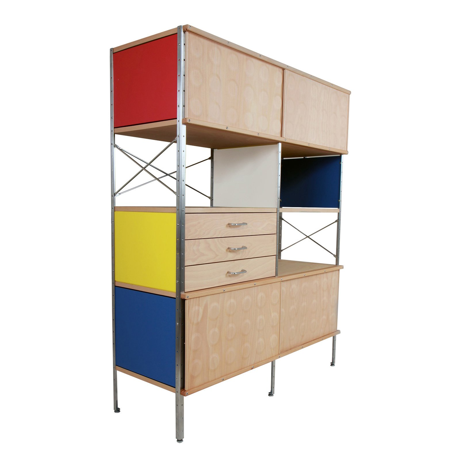 Eames Storage Unit Charles Ray Eames Mad For Modern # Muebles Wood Haedo